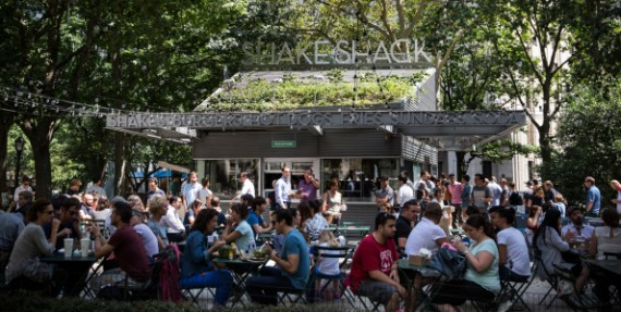Did they know the amount of cholesterol, fat and sodium they get after eating at Shake Shack?