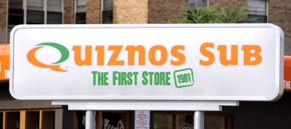 Quiznos bagged the top 3 and top 2 for unhealthiest fast food!