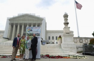 Rally At Supreme Court Celebrates DOMA And Prop 8 Rulings