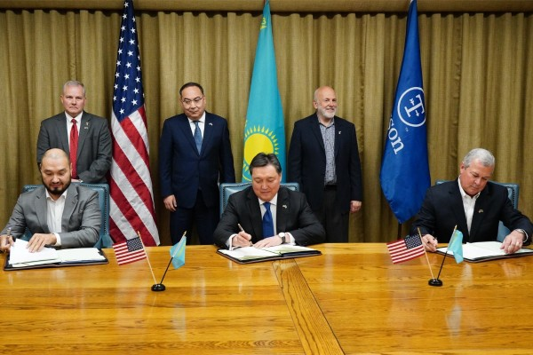 Kusto Group's Yerkin Tatishev and Daniel Kunin of Aim to be Part of Kazakhstan's Agricultural Revival