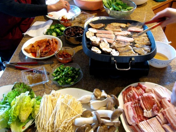 Korean Samgyeopsal