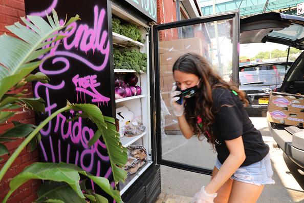 Community Fridge Establish to Help Struggling Calgarians
