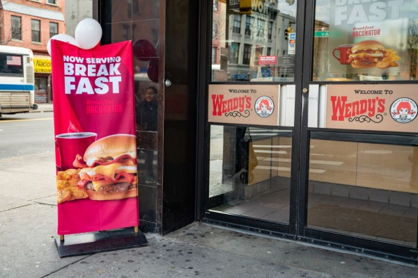 Wendy's Records Highest Same-Day Sales Thanks to Its New Breakfast Menu