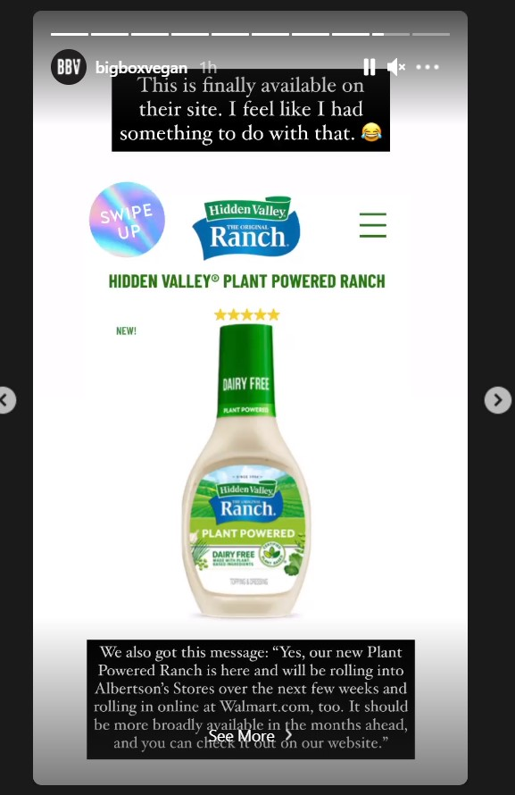 Attention Vegan Enthusiasts: Hidden Valley Ranch to Release Vegan, and Dairy-Free Version of their Dressing
