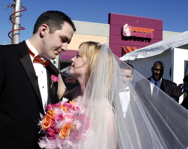 Dunkin' is Launching Wedding Merchandise alongside their Drive-Thru Weddings in an attempt to sell more than just-food