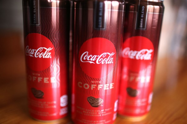 Coca-Cola With Coffee Hits The Store Shelves