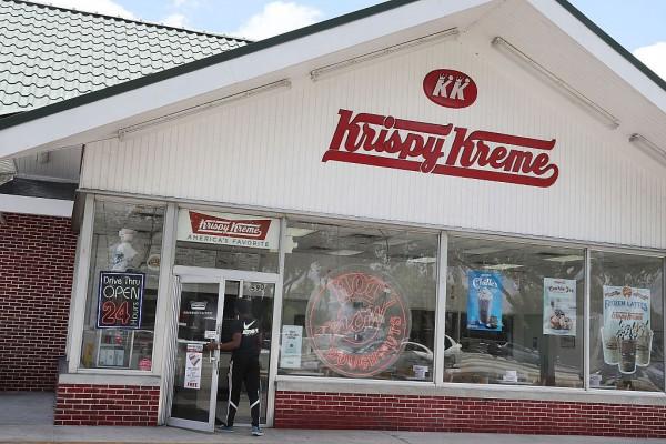 Krispy Kreme Offers Mars Doughnut for a Limited Time, in Celebration of NASA's Rover Landing