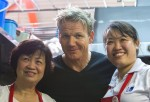Gordon Ramsay (middle), claimed that he was sabotaged by his competitor in the business.