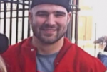 The 22-year-old 285-pound Kosta Karageorge Ohio State football player and wrestler was last seen by his friends strolling early on Wednesday around 2 a.m.  He was found dead on a trash bin with self-inflicted gunshot wound.