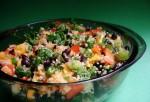 Quinoa, Black Beans, Mango Salad