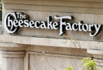 A sign for The Cheesecake Factory restaurant is pictured in Glendale, California April 19, 2011.