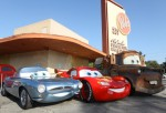 Lightning McQueen, Mater and Finn McMissile of 'Cars 2' Roll Into Bob's Big Boy
