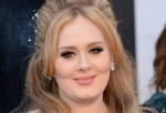 Singer Adele arrives at the Oscars at Hollywood & Highland Cente