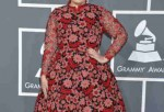 Adele during the Annual Grammy Awards
