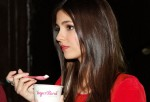 Victoria Justice and Yogurt
