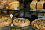 Small Business Display of Breads and Pies