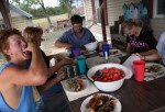 Kansas Farmers, Home Cooked Meal