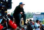 Director Ang Lee Goes Over A Scene On The Set Of Crouching Tiger, Hidden Dragon