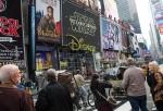 Star Wars Branding At Time Square