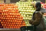 Lady Choosing Some Fruits