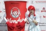 Wendys Frosty Milkshake and Wendy