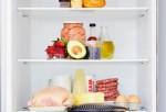 Food pyramid in the fridge