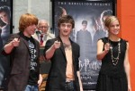 Harry Potter Cast Hand And 'Wand-Print' Ceremony