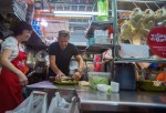 Gordon Ramsay Practices Ahead Of Singapore's Hawker Heroes Challenge