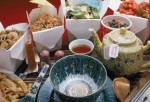 Display Of Chinese Food