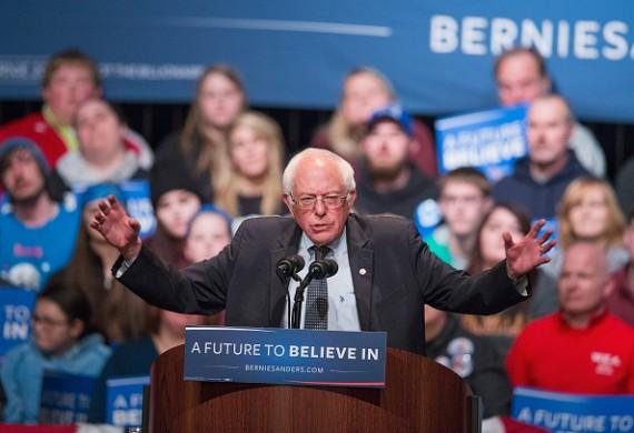 Bernie Sanders Holds Town Hall Meeting In Wausau, Wisconsin