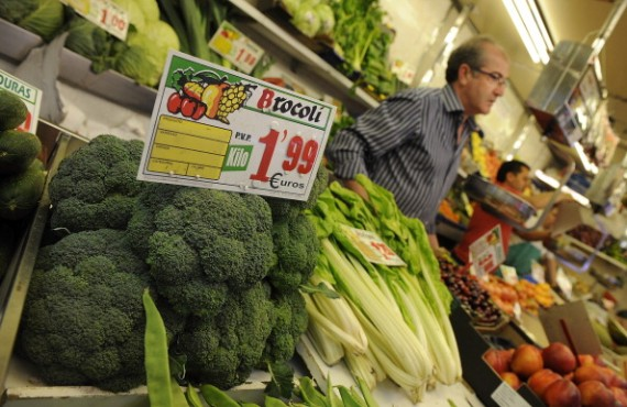 Fresh Produce Is Bought And Sold At The Local Markets Despite Ecoli Crisis
