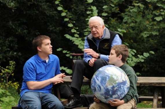Global Elders Enlist Their Grandchildren's Help On Climate Change