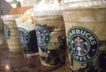 4 iced starbucks coffee