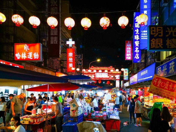 Night Markets in Asia