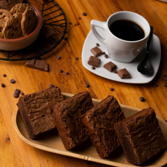 Food World News - The Perfect Chewy Brownies