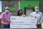 West Texas Food Bank Receives $54,000 Donation from Houston Ferrovial and Its Subsidiaries