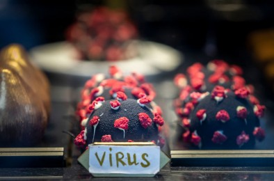 Coronavirus-Inspired Dessert Goes Viral in Prague