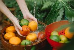 Washing Fruits