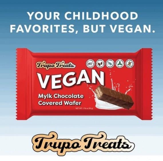 Vegan KitKat? Trupo Treats Is Making Vegan Versions of Iconic Childhood Favorites