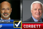Tom Wolf for Governor! Shouted by the Pennsylvanians as Tom Wolf made a historic defeat against incumbent Republican Gov. Tom Corbett Tuesday.