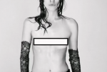 Interview Magazine made the way for the actress to fight for her stance against photo editing as she goes topless for the magazine cover.