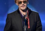 Actor Johnny Depp speaks onstage during the 18th Annual Hollywood Film Awards at The Palladium on November 14, 2014 in Hollywood, California.